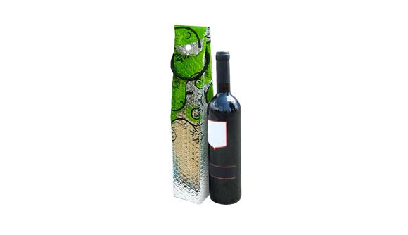 Bolsa Para Garrafa de Vinho Publicitaria 2