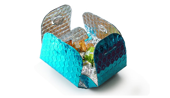 Bolsa Termica para doces azul