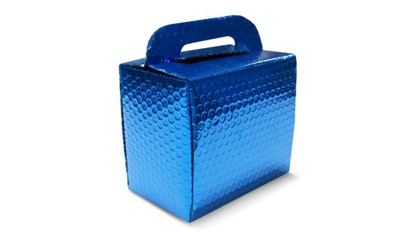 Caixa para caneca azul
