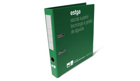 pasta de arquivo personalizada pvc verde