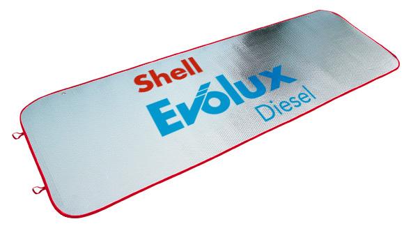 tapasol publicitario para camiao shell