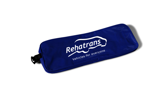 bolsa nylon kit de emergencia para viaturas azul