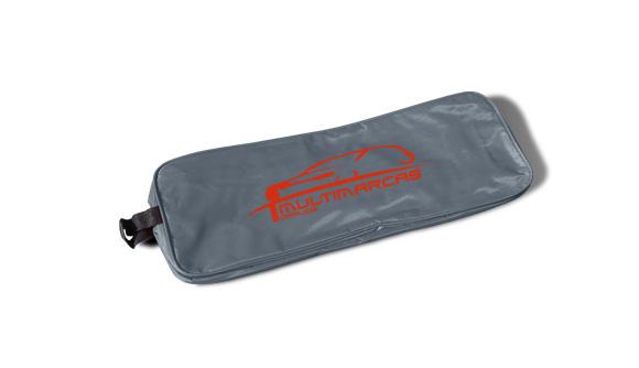 bolsa nylon kit de emergencia para viaturas cinzento