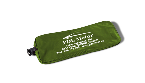 bolsa nylon kit de emergencia para viaturas verde