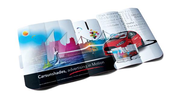 Parasole Auto Cartone Micro Carton