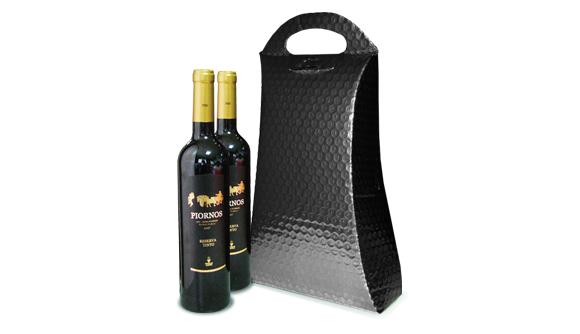 Bolsa Para Duas Garrafas de Vinho