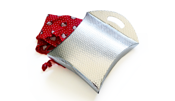 bolsa metalizada com pega 1