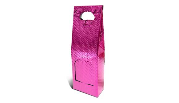 bolsa metalizada para duas garrafas de vinho 3